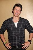 LOS ANGELES - AUG 27:  Adam Gregory attending the Bold & The Beautiful Fan Event 2011 at the Univers