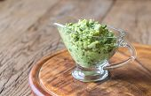 Guacamole In Glass Gravy-boat poster