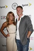 WEST HOLLYWOOD - AUG 28: Vienna Girardi and Kasey Kahl at the 4th annual Icons & Idols party at the
