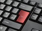 Red Key On Computer Keyboard Entitled Err