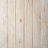 Vintage Weathered Shabby White Painted Wood Texture As Background. Square Close-up For Instagram poster