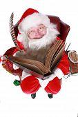 Humorous Santa