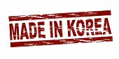 Stamp - Made in Korea