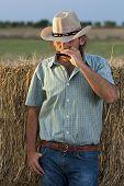 Cowboy Spielen Harmonika