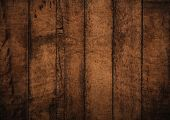 Old Grunge Dark Textured Wooden Background,the Surface Of The Old Brown Wood Texture,old Brown Hardw poster