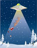 Santa Abducted By Ufo