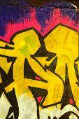 Detalhe de grafitti