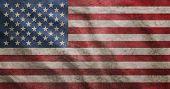 Grunge Rugged Usa Flag