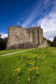 image of bute  - Dunstaffnage Castle on the north west coast of Scotland near Oban in Argyll and Bute - JPG