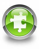 Plugin / Puzzle icono brillante
