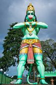 Giant Statue Of Hanuman