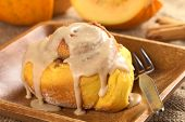 Pumpkin Cinnamon Roll