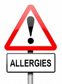 image of itchy  - Illustration depicting a red and white triangular warning sign with an  - JPG