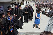 Law School Graduates Walk