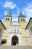 Luzerne - Hofkirche cathedral, Switzerland