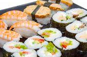 Sushi Set Closeup
