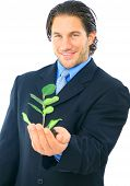 Environmental Friendly Businessman