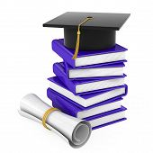 the end of the educational process