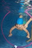 Diving Toddler