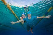 Couple - Underwater Shoot