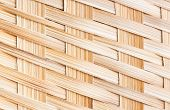 Close Up Bamboo Wood Weaving Texture,thai Handwork