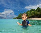 Little Boy In The Wetsuit