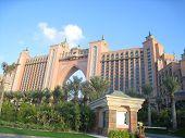 El Hotel Atlantis en Dubai, Emiratos Árabes Unidos