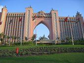 O Hotel Atlantis em Dubai, nos Emirados Árabes Unidos