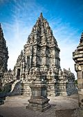 Prambanan temple near to Yogyakarta on Java, Indonesia.