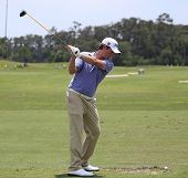 Webb Simpson at The Players Championship 2012