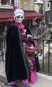 Disguised Person In Annecy