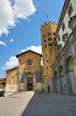 Church of St. Andrea. Orvieto. Umbria. Italy.