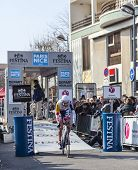 The Cylist Bellemakers Dirk- Paris Nice 2013 Prologue In Houilles
