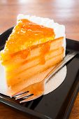 Whipped Cream Orange Marmalade Cake