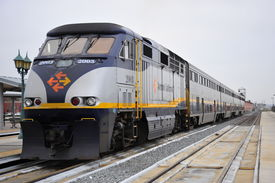stock photo of amtrak  - Amtrak California - JPG