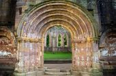 An old gate in Fountains Abbey