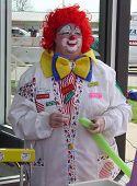 Redhead Clown
