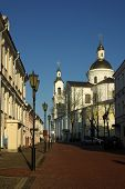 On The Street Of The Old City Vitebsk, Belarus