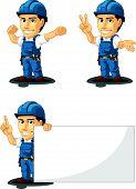 Technician Or Repairman Mascot 7