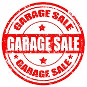 Garage Sale-stamp