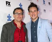 LOS ANGELES - OCT 24:  Matthew Asner, James Durbin at the Blue Jean Ball benefiting Austism Speaks a