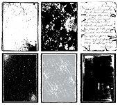 Vector Borders & Textures x 6