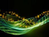 Lights Of Fractal Waves