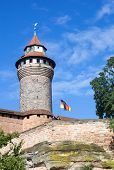 Sinwell Tower At Nuremberg Imperial Castle