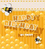 Happy Birthday to my sweet - card