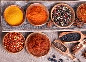 Different  Spices