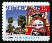 Postage Stamp Australia 2008 Luna Park Melbourne