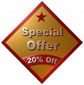 Spesial Offer 20% off (red star)