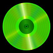 image of lp  - An illustration of a lp vinyl record - JPG