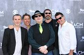 LAS VEGAS - APR 6:  Blues Traveler, John Popper at the 2014 Academy of Country Music Awards - Arriva